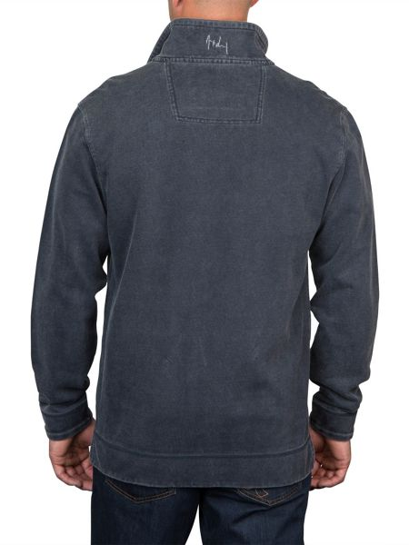 Raging Bull Big and Tall Signature quarter zip sweatshirt
