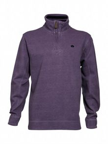 Signature quarter zip sweatshirt
