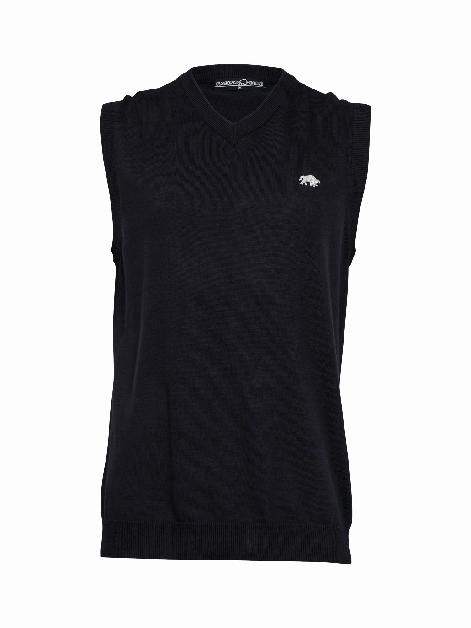 Big and Tall Pima cotton v-neck tank