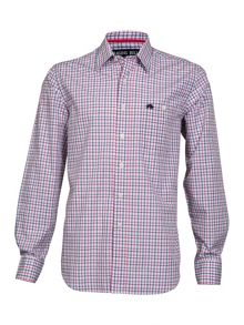 Raging Bull Big And Tall Fine Check Long Sleeve Shirt