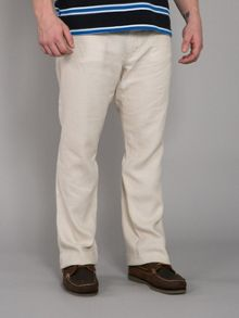 Classic casual linen trouser