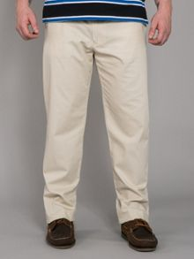 Casual canvas trouser
