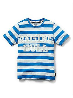 Boys striped graphic t-shirt