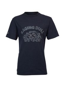 Big And Tall Bull Applique T-Shirt