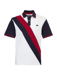 Double Stripe Polo Shirt