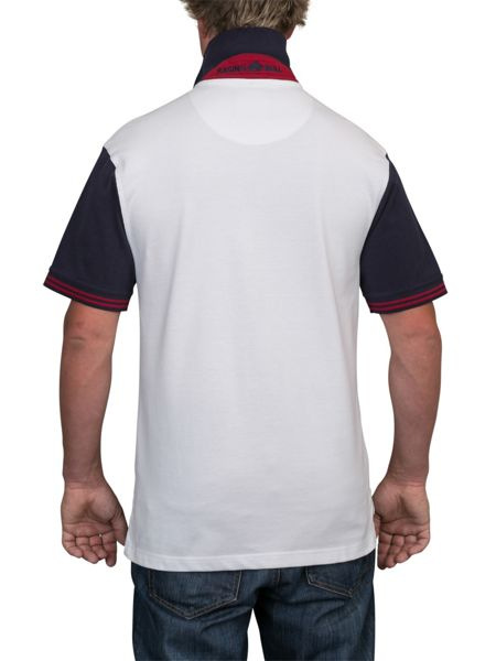 Raging Bull Big And Tall Double Stripe Polo Shirt