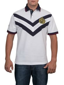 Raging Bull Double chevron polo shirt