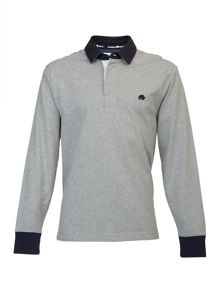 Quilted rugby shirt