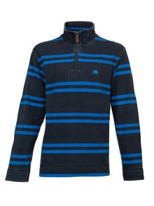 Raging Bull Big and tall double stripe 1/4 zip top