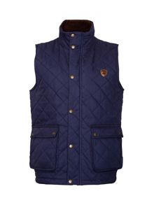 N/Aquilted Full Zip Gilet