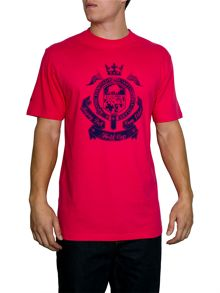 Raging Bull World Cup Crest Crew Neck Regular Fit T-Shirt