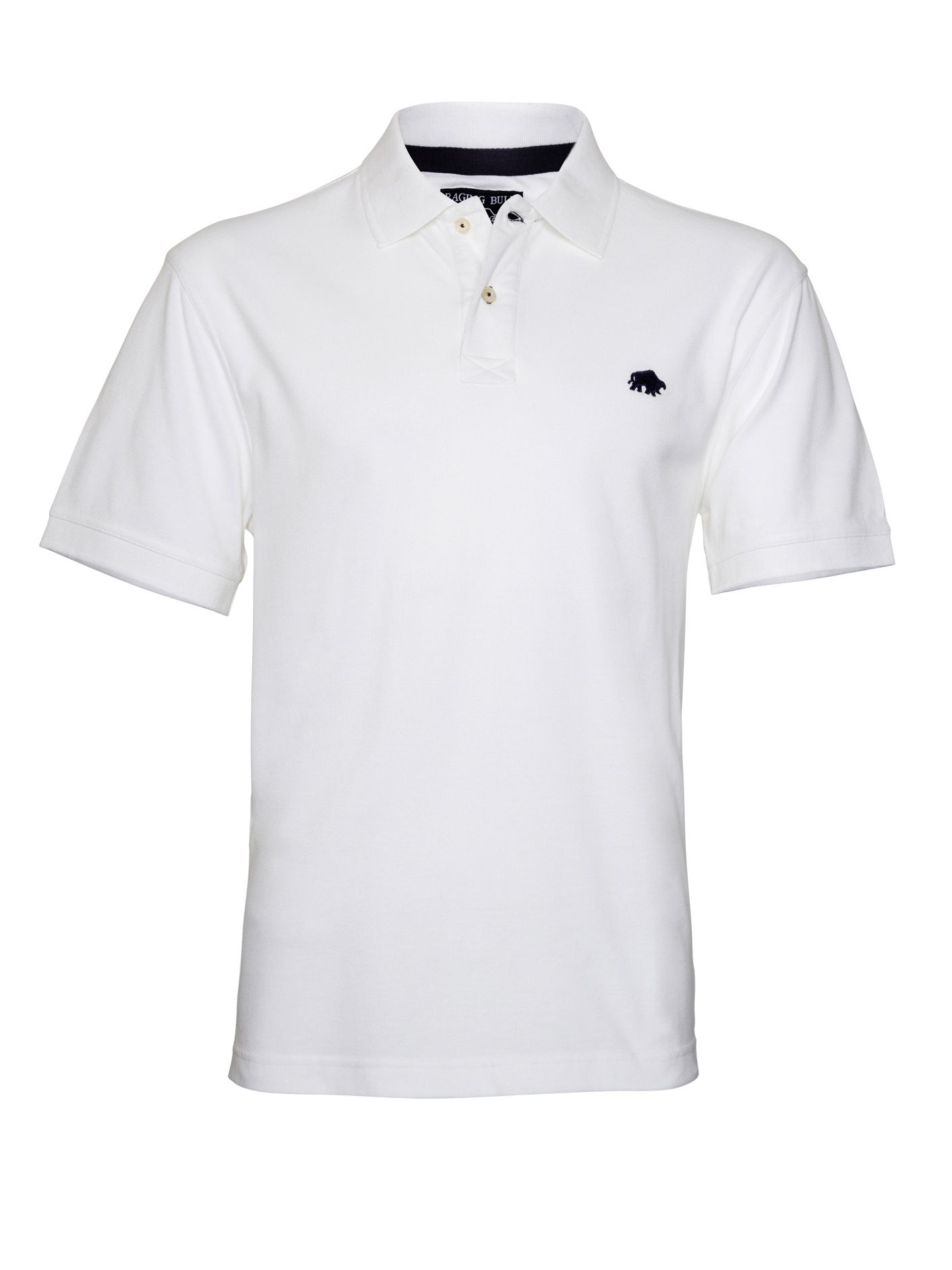 Men's Raging Bull Big & Tall New Signature Polo Shirt, White