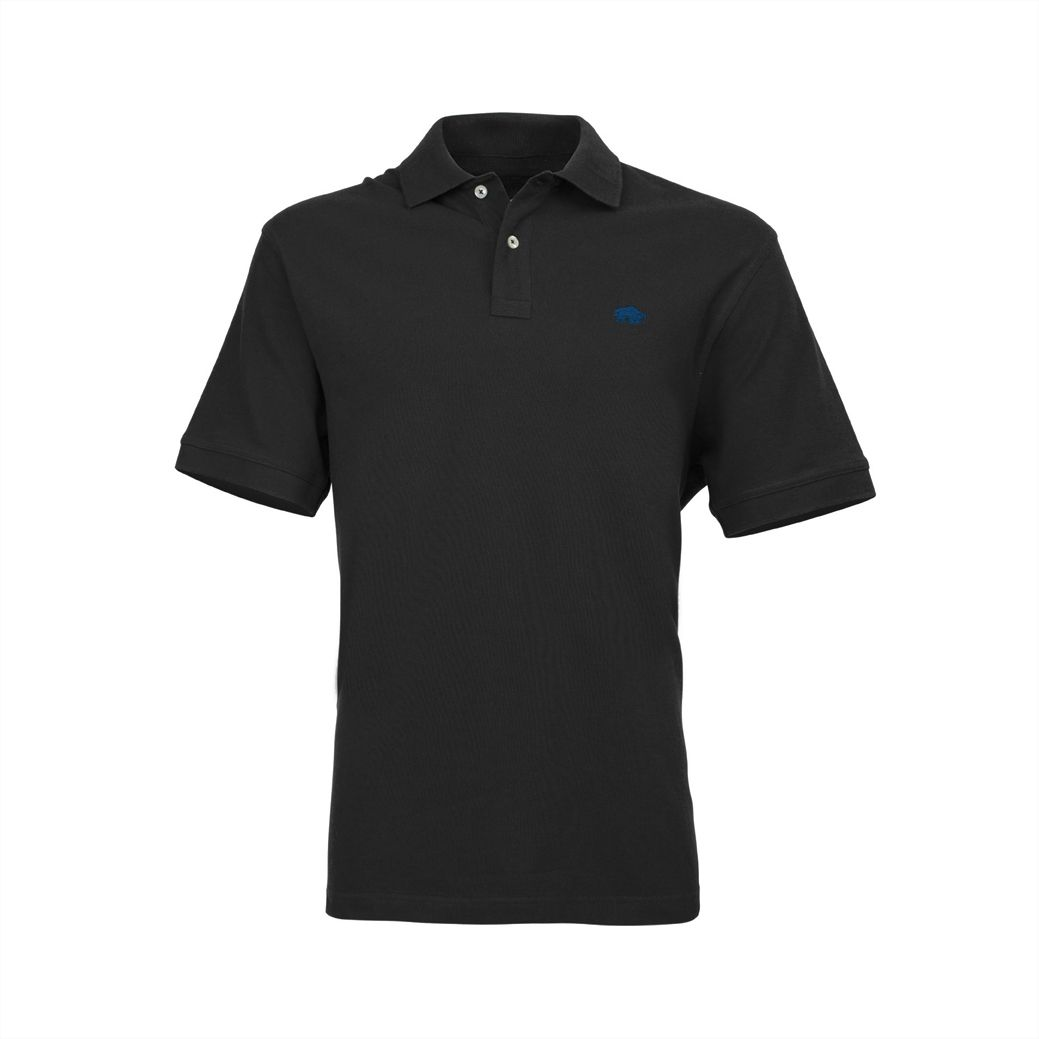 Men's Raging Bull New Signature Polo Shirt, Black