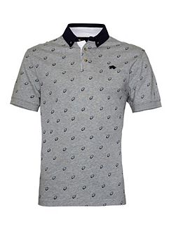 Print Regular Fit Polo Shirt