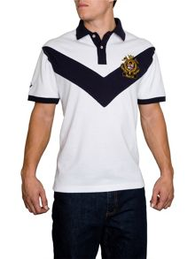 Raging Bull Chevron Regular Fit Polo Shirt