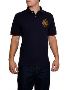 Raging Bull World Cup Crest Regular Fit Polo Shirt