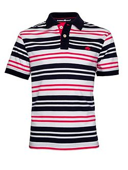 Varied Stripe Regular Fit Polo Shirt
