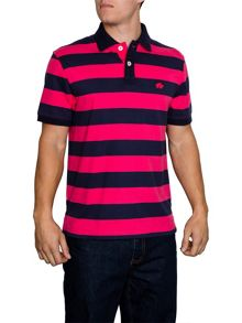 Raging Bull Hooped Stripe Regular Fit Polo Shirt
