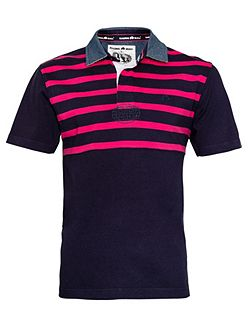 Men's Raging Bull Stripe Regular Fit Short Sleeve