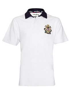 Union Jack Regular Fit Rugby Top