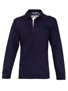 Raging Bull Union Jack Regular Fit Rugby Top