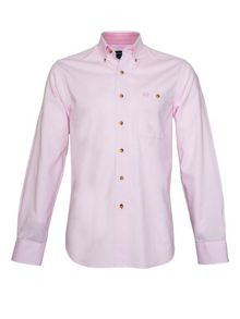Raging Bull Plain Long Sleeve Button Down Shirt