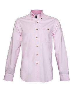 Plain Long Sleeve Button Down Shirt