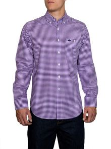 Signature Gingham Long Sleeve Button Down Shirt