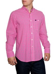 Raging Bull Signature Gingham Long Sleeve Button Down Shirt