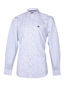 Raging Bull Ditzy Pattern Classic Fit Long Sleeve Shirt