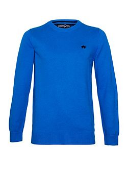 Plain Crew Neck Pull Over Jumper