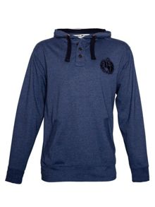 Henley Crew Neck Button Jumper