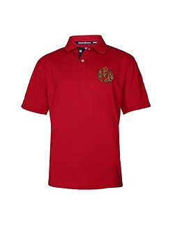 Emblem Regular Fit Polo Shirt