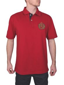 Raging Bull Emblem Regular Fit Polo Shirt