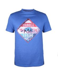 Raging Bull Danger Sign T/Shirt