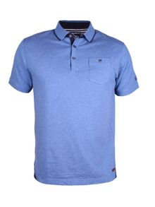 Raging Bull Thin Placket Jersey Polo