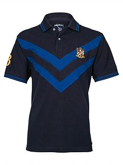 Double Chevron Polo