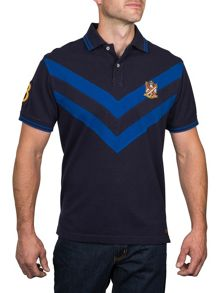 Raging Bull Double Chevron Polo