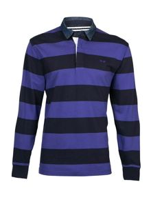 Raging Bull L/S Hooped Rugby