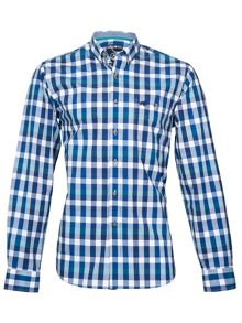 Raging Bull Peached check shirt