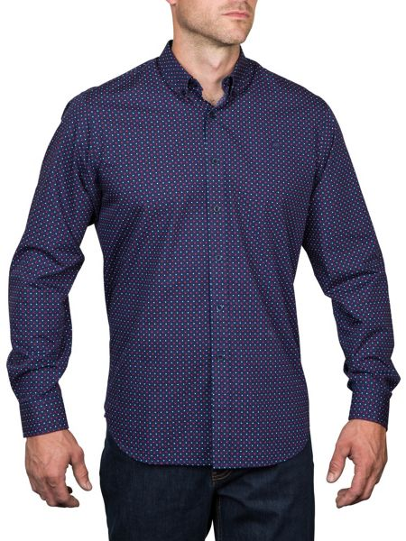 Raging Bull L/S Polka Dot Shirt