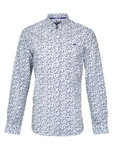 Raging Bull Long Sleeve Floral Print Shirt