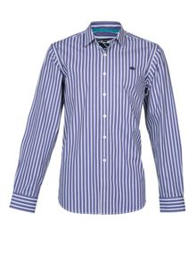 Raging Bull L/S Multi Stripe Shirt