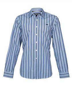 L/S Fine Stripe Shirt