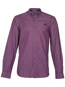 L/S Varied Stripe Shirt