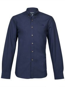 Raging Bull Long Sleeve Plain Poplin Shirt