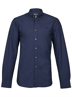 Men's Raging Bull Long Sleeve Plain Poplin Shirt