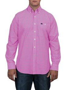 Raging Bull Gingham check shirt