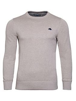 Big & Tall Cotton/Cashmere Crew Neck