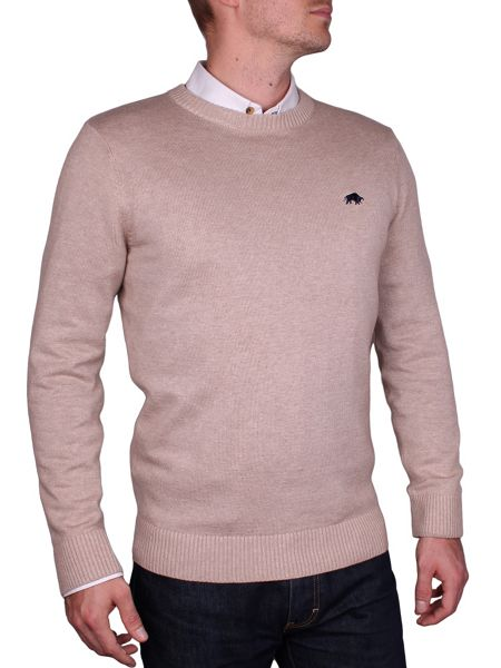 Raging Bull Cotton/Cashmere Crew Neck